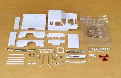 Revell 1/24 1991 FORD F-350 DUALLIE PICKUP CAB, BED AND RELATED PARTS