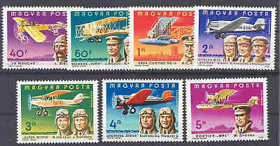 HUNGARY - 1978. AIR. Famous Aviators&their Airp - MNH