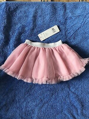 Baby Girls Pink Party Skirt By F&f Age 9-12 Months Bnwt