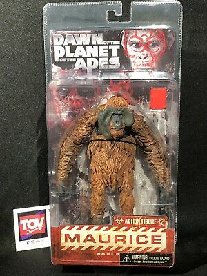 NECA Reel Toys Dawn of the Planet of the Apes POTA MAURICE Action Figure
