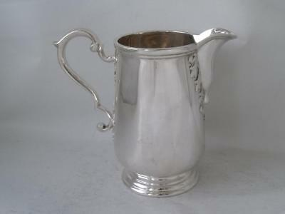 Quality Heavy Solid Sterling Silver Cream Jug 1969/ H 10 cm/ 240 g
