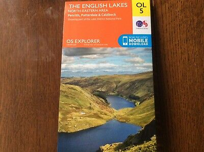 Digital OS Explorer OL5 The Lake District - North Eastern area- Ordnance Survey
