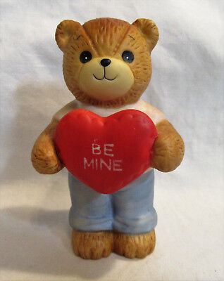 Lucy & Me ~ Be Mine Valentine's Day Heart ~ Porcelain Figurine