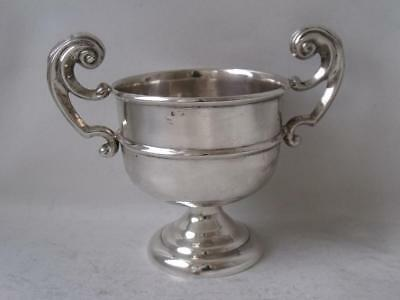 Solid Sterling Silver Trophy Cup/ H 5.9 cm/ 56 g