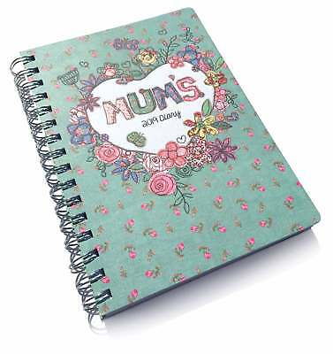 Mums Fabric Planner A5 Diary 2019 Family Week To View