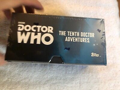 New 2016 Topps Doctor Who The Tenth Doctor Adventures Widevision 2 Autographs