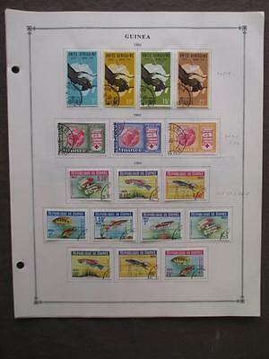 About 1963-1965 Guinea On Scott Pages - Value Unchecked - (s71)