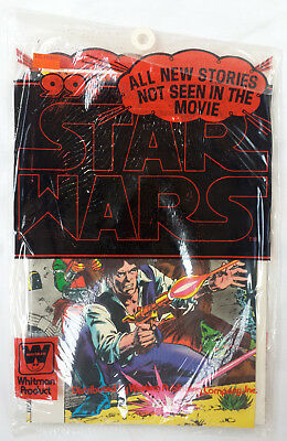 Star Wars 1978 #7-9 Marvel Whitman Comics Sealed 3-Pack Bagged Bundled Set