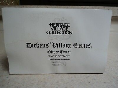 """Dept. 56 Dickens' Village Series """"maylie Cottage"""" W/box- Buy It Now"""