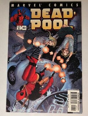 Deadpool #53 (2001, Marvel) Mercy Sisters Apperance! Vol 1