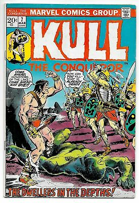 Kull The Conqueror #7 (Marvel, 1972) FN