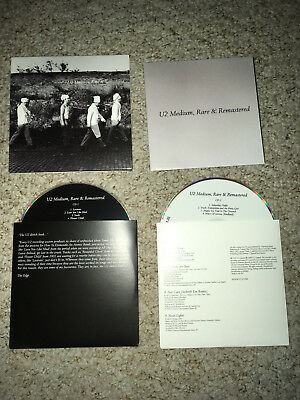 U2 Medium Rare and Remastered - Very Rare Fan Club Only 20 Track Double CD