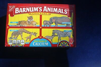 Barnum's Animals Nabisco Discontinued Cage Box and Bag NEW never been opened.