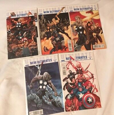 Ultimate New Ultimates # 1 - 5 ( Marvel, 2010 )