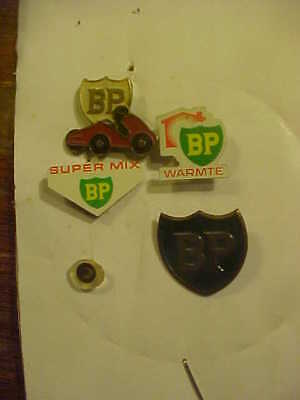 Assortment of 4 BP Stick Pins from Europe