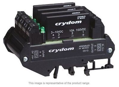 Crydom Solid State Relay DIN Rail Panel Mount DC 8 A 10 V-  DRA4-CMX100D10- NEW