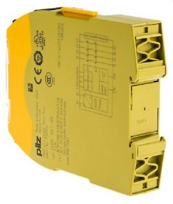 Pilz 24 V dc Safety Relay Dual Channel with 3 Safety Contacts and 1 Auxilary Con