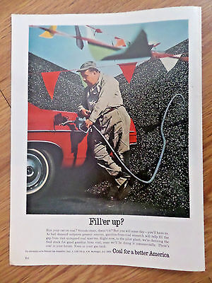 1969 Coal for a Better America Ad    Fill'er Up?