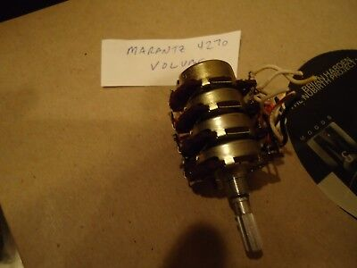 Marantz 4270 Receiver Parting Out Volume Potentiometer Super hard to find