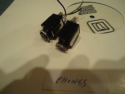 Sansui 9090DB Stereo Receiver Parting Out Headphone Jacks (Both)