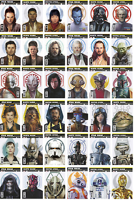 STAR WARS * 2018 Galactic Icon Variants (NM) Darth Vader - Doctor Aphra = Marvel