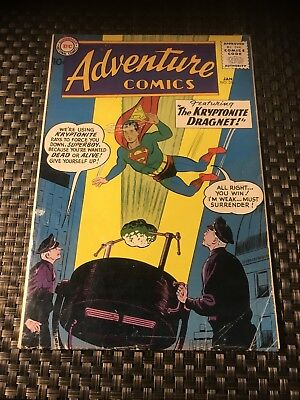 ADVENTURE COMICS #256, DC Comics, (1959) Origin Green Arrow Silver Age Key Issue