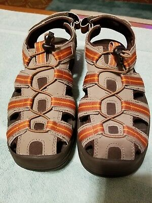 decb866f051 LL BEAN MEN S Sandals Water Shoes Brown Tan Orange Size 8 293678 ...