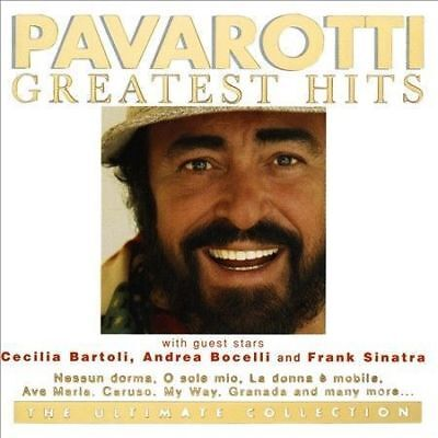 Pavarotti: Greatest Hits – 2 Cd Set, Best Of, Andrea Bocelli, Sealed Brand New
