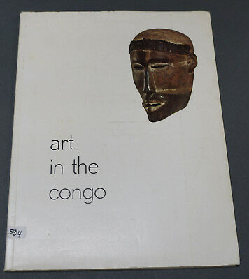 Book: Art in the Congo, Brussels Universal Exhibition 1958