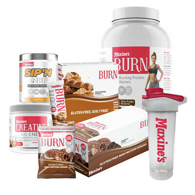 Maxine's Advanced Challenge Pack 2018 Maxines Burn Shred Protein Powder