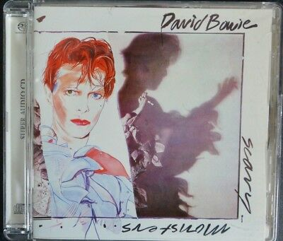 David Bowie Scary Monsters SACD Excellent Condition Very Rare
