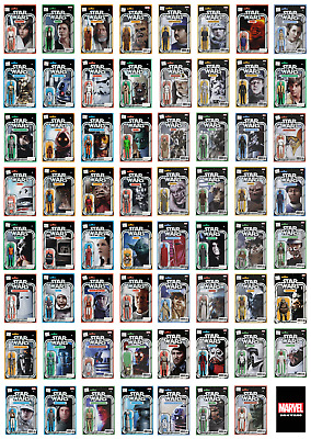 STAR WARS - John Tyler Christopher Action Figure Variants - NM - Marvel Comics