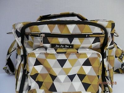Ju-Ju-Be BFF Diaper Bag, OliveJuice Starlet Collection. Hard to find. Brand New.