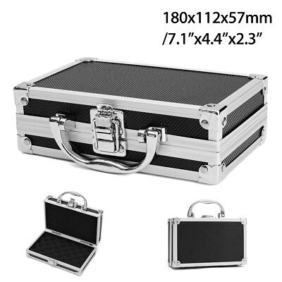 "7"" Aluminium Small Truck Pickup Underbed Tool Box Storage Case Carry ToolBox"