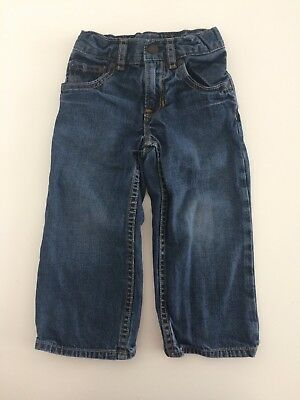 Boys GAP Toddlers Blue Baggy Jeans Size 2 Years