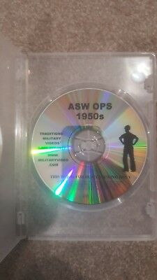 ASW Anti Submarine Ops 1950s DVD Military Video Hunter Killer Ops Cold War