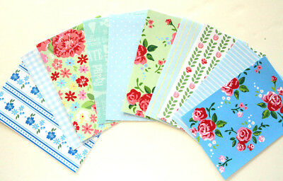 Shabby chic Scrapbooking papers Card making Planner crafts