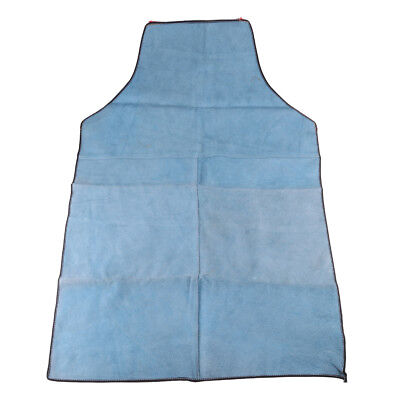 Welding Coat Apron Protective Clothing Welder Safety Clothing 90cm Blue