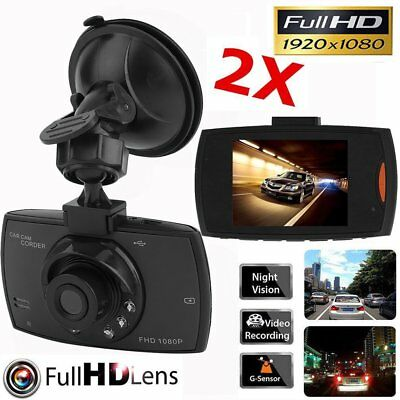"2.4"" 170° KFZ Autokamera Full HD 1080P Vehicle DVR Dashcam LED Camera Camcorder"