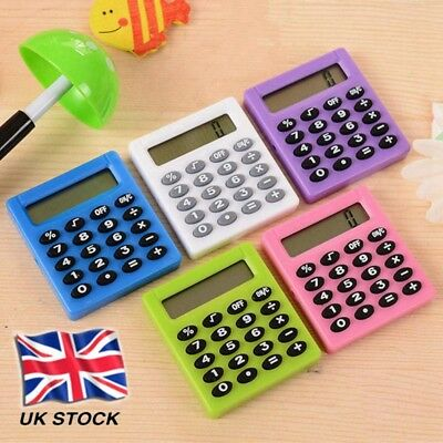 Protable Pocket New Student Mini Electronic Calculator School Office Supplies