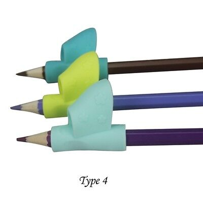 For Kid Pencil Holder Pen Writing Aid Grip Posture Correction Tool *3pcs WE9X