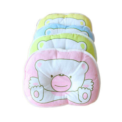 Cute Bear Pattern Baby Soft Anti-flat Head Infant Stereotypes Pillow