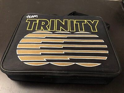 Large Lot of Trinity Brushed Racing Motors in Carrying Case Tubes SUPER NICE!!!