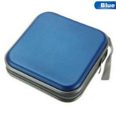 CD DVD 40 Disc Disk Case Sleeve Wallet Holder Portable Plastic Bag