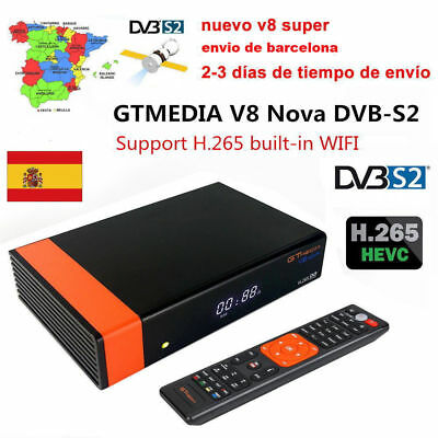 (New v8 super)GtmediaV8 Nova Satellite Receiver Decoder TV IPTV Integrada Antena