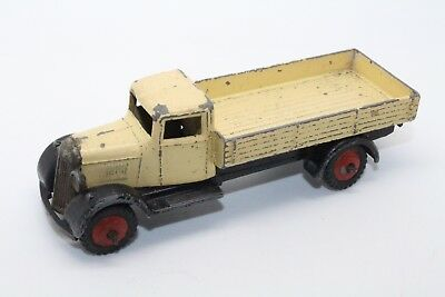 DINKY LIVERPOOL OPEN TRUCK LORRY WAGON No25A CREAM