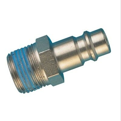 Series 25Ka Plug Bspt Male Pneumatic Quick Release Fittings