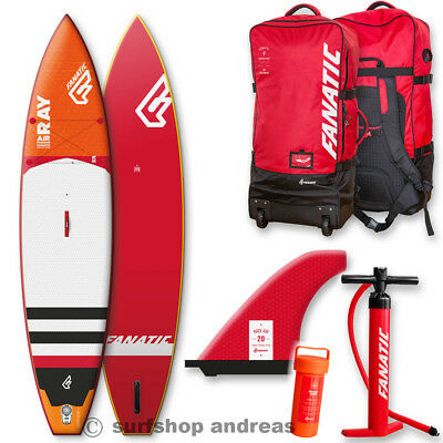 Fanatic SUP RAY AIR SUP 12'6'' Premium 2018  INFLATABLE aufblasbar iSUP