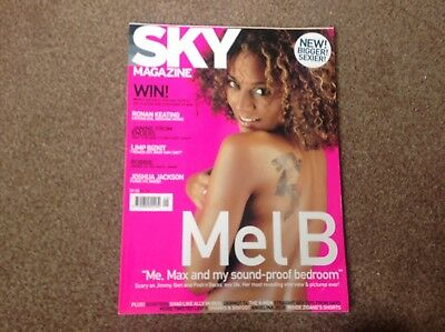 Sky magazine with Mel B