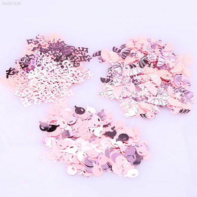 A94D Christening Table Confetti Decoration Baby Boy/Girl Blue/Pink Party Sprinkl